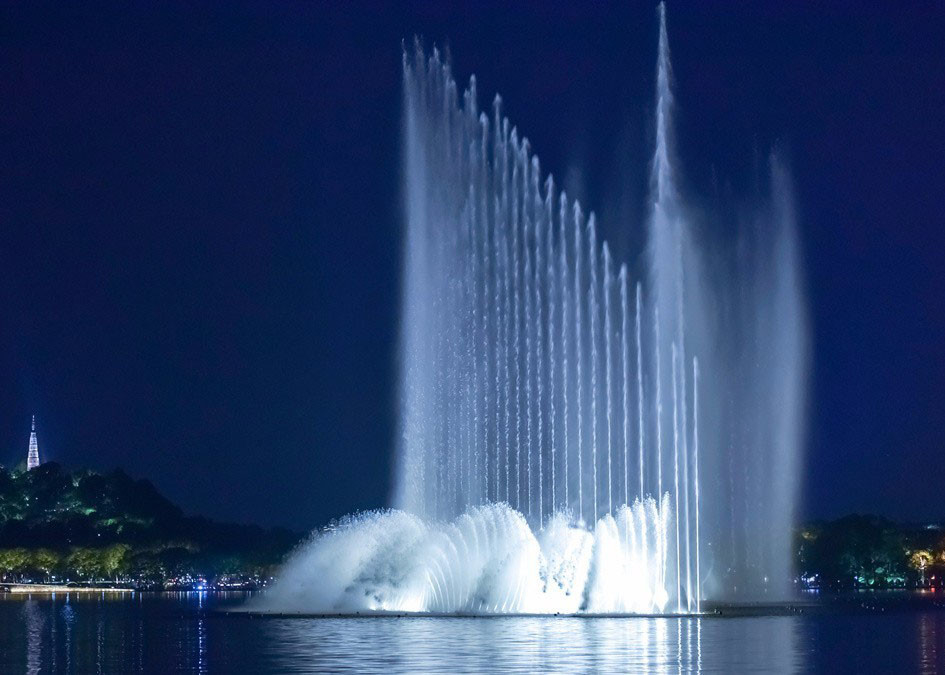 Big Led Water Fountain Outdoor Magic Water Fountain Thailand PC System sterowania dostawca